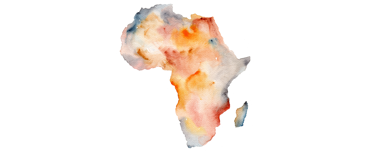 Matteo-Pericoli-Map of Africa