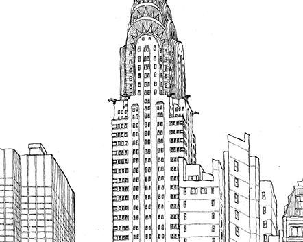 Matteo-Pericoli-The Chrysler Building