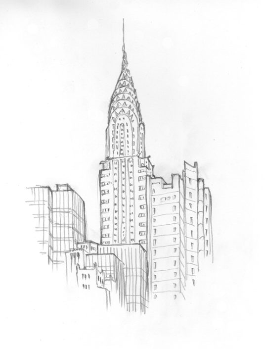 Matteo-Pericoli-The Chrysler Building-New York