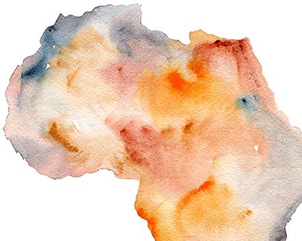 Matteo-Pericoli-Map of Africa