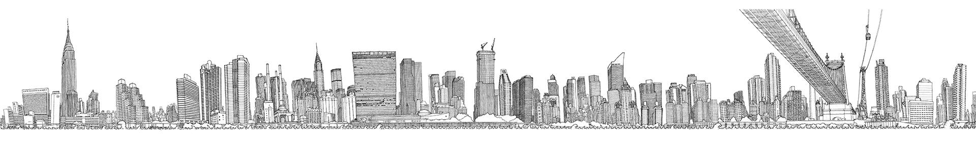 Matteo Pericoli - Manhattan Unfurled