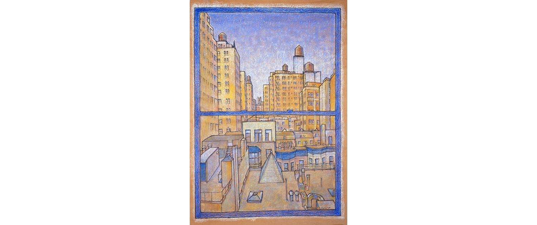 Matteo-Pericoli-My Window View-New York