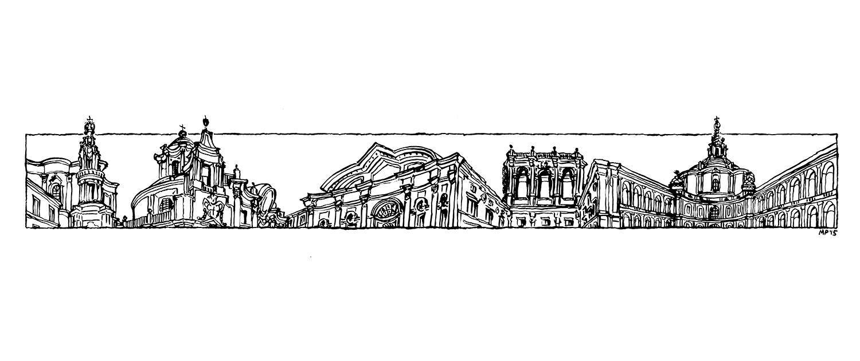 Matteo-Pericoli-Rome-Borromini