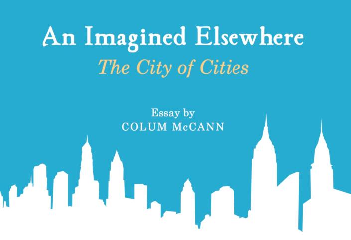 An Imagine Elsewhere, by Colum McCann